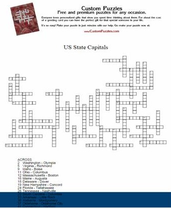 Make a crossword - Step 4