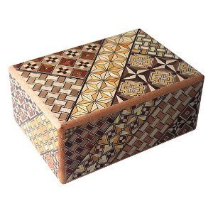 Japanese Puzzle Box, wooden puzzle boxes
